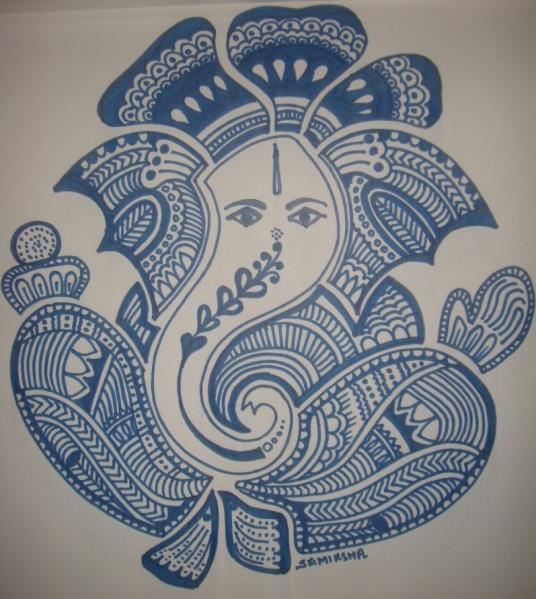 Zendoodle Ganpati   Samikshau0026#39;s ART Book